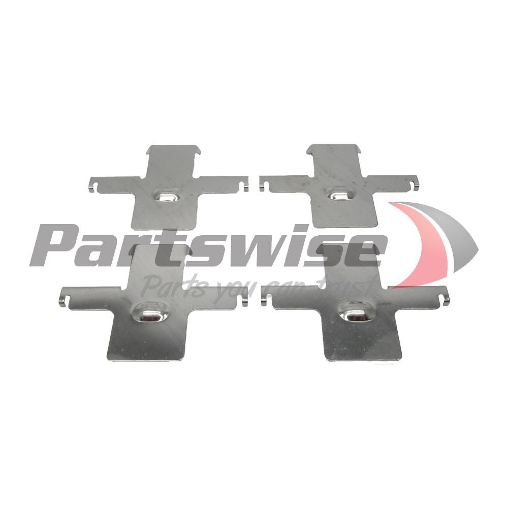PW20163 Brake pad shim kit