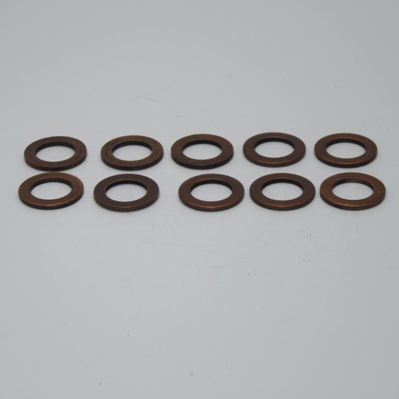 PW8011-PK10 Copper washers 10x16mm copper washer.