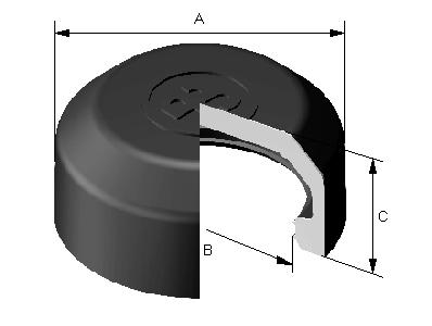 PW32006 Caliper guide pin boots